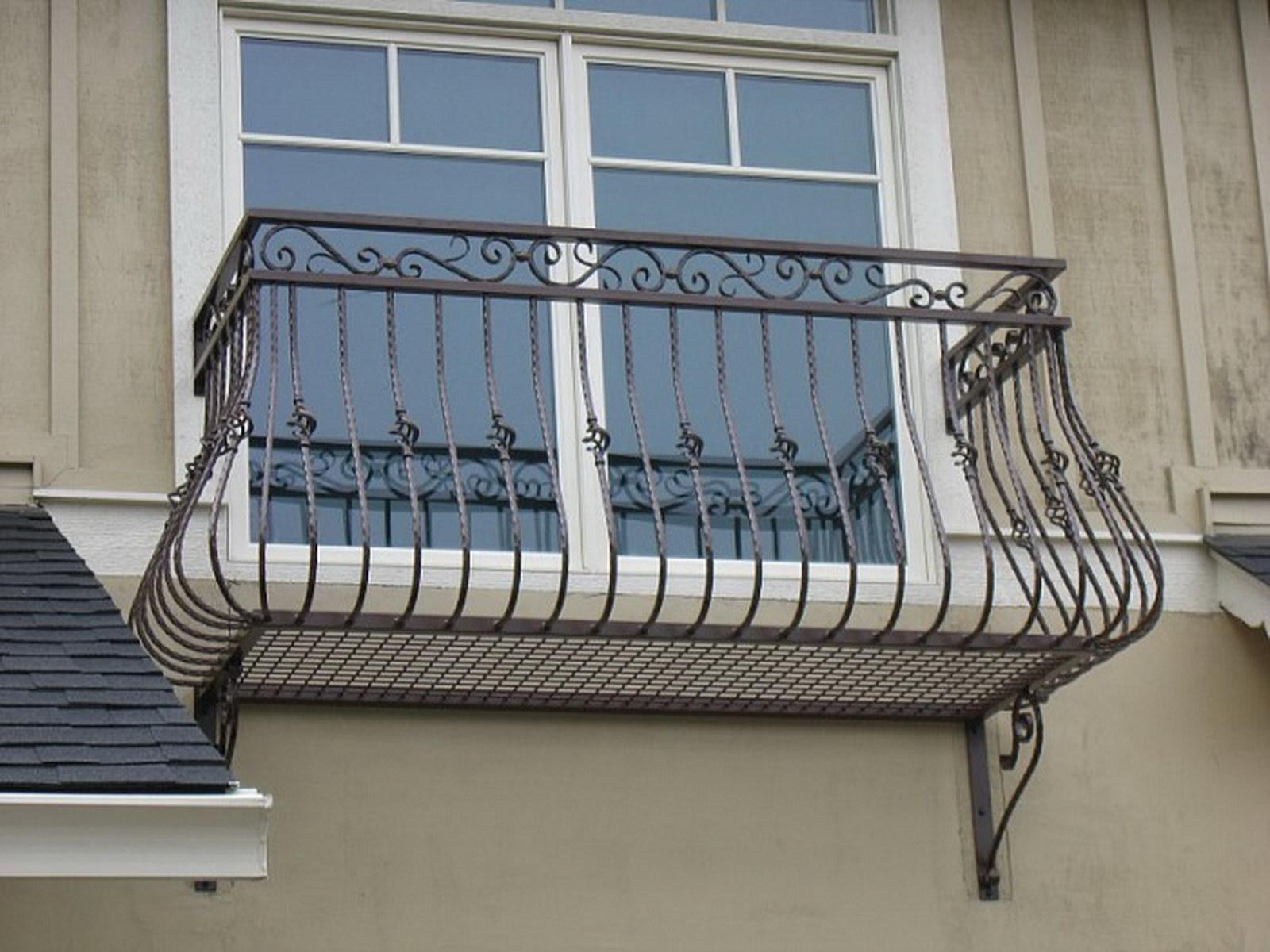 Балконные ограждения: цена, фото - гарант-металл.