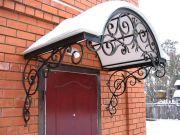 Кованые козырьки заказать в Оренбурге (015)