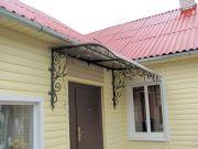 Кованые козырьки заказать в Оренбурге (030)