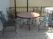Кованый стол (003)