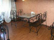 Кованые скамейки и столы Оренбург (004)