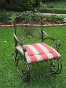 Кованое кресло-качалка Оренбург (008)
