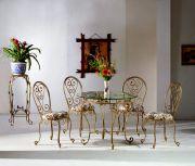 Кованые стол и стулья Оренбург (013)