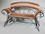 Кованая скамейка Оренбург (017)