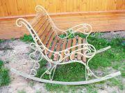 Кованое кресло-качалка заказать в Оренбурге (019)