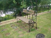 Кованая скамейка заказать в Оренбурге (024)