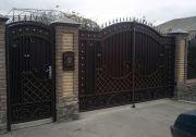 Кованые ворота Оренбург (007)