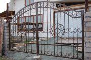 Кованые ворота Оренбург (009)