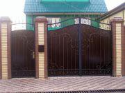 Кованые ворота Оренбург (021)