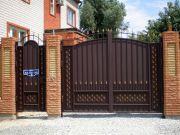 Кованые ворота Оренбург (026)