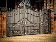 Кованые ворота Оренбург (040)