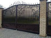 Кованые ворота Оренбург (046)