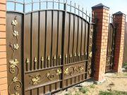 Кованые ворота Оренбург (052)