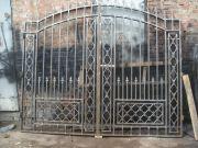 Кованые ворота Оренбург (057)