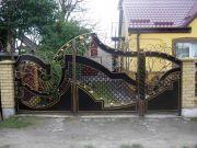 Кованые ворота Оренбург (066)