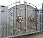 Кованые ворота Оренбург (067)