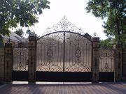 Кованые ворота Оренбург (068)