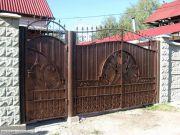 Кованые ворота Оренбург (072)
