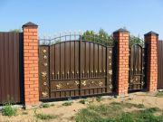 Кованые ворота Оренбург (074)