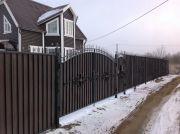 Кованые ворота Оренбург (076)