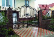 Кованые ворота Оренбург (109)