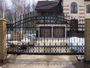 Кованые ворота Оренбург (118)