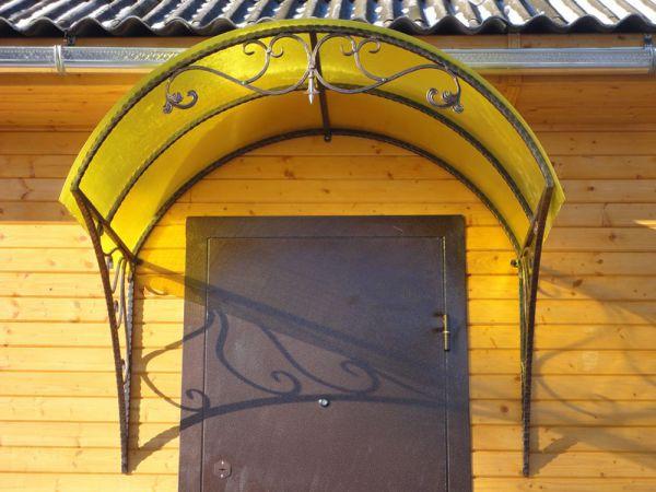Кованые козырьки заказать в Оренбурге (074)
