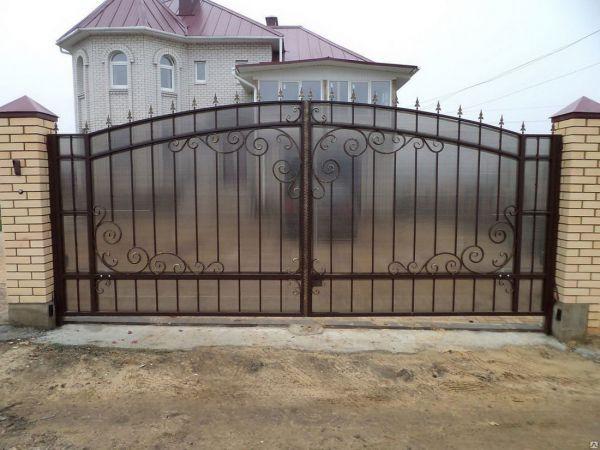 Кованые ворота Оренбург (130)