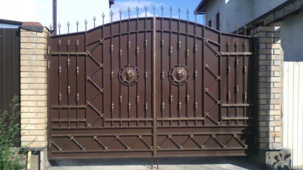 Кованые ворота Оренбург (135)
